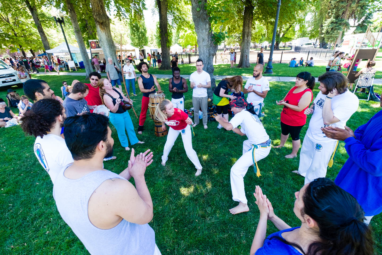 Capoeira in the Park