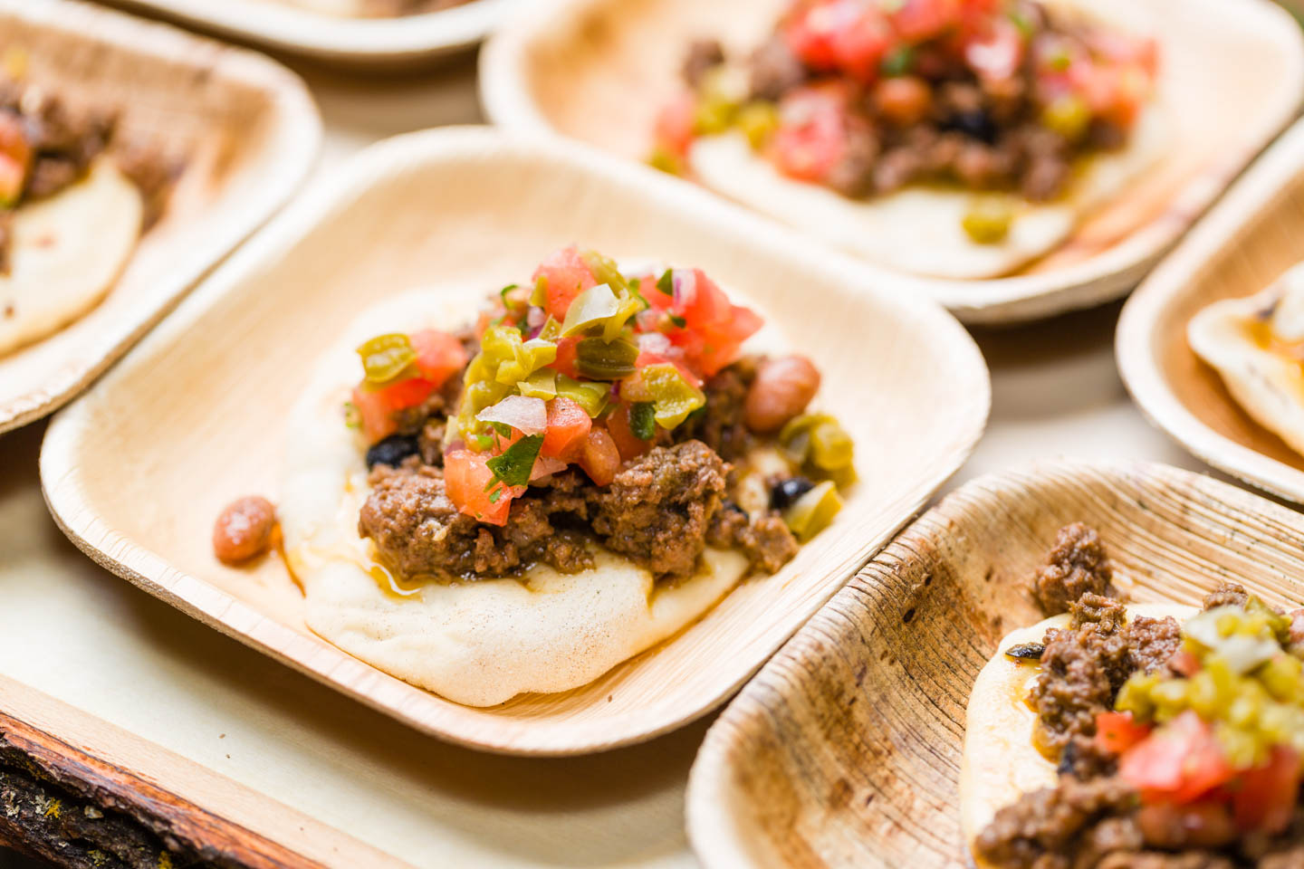 Navajo tacos by Lux Catering & Events