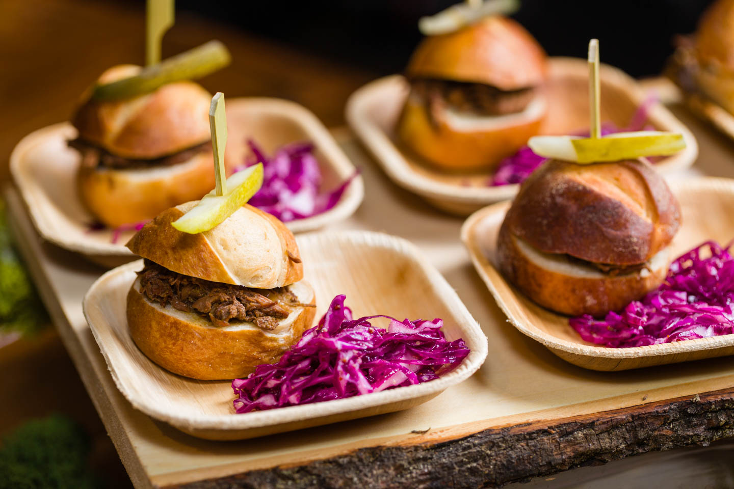 Sliders by  Lux Catering & Events