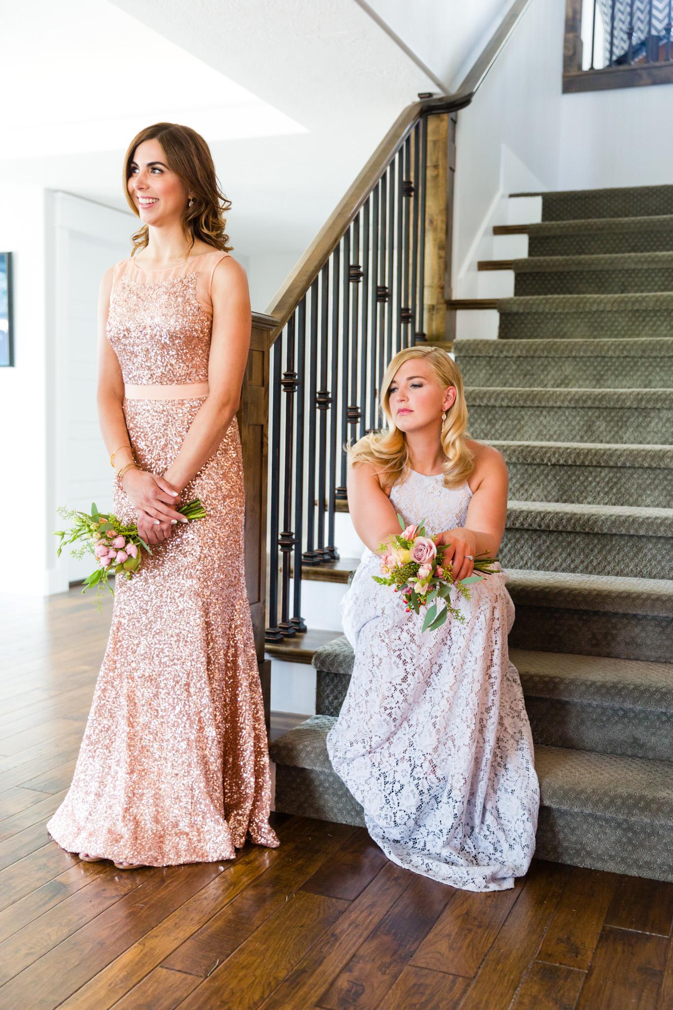 Bridesmaids or groomsmaids