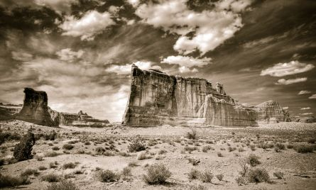 The Organ Monument in Moab