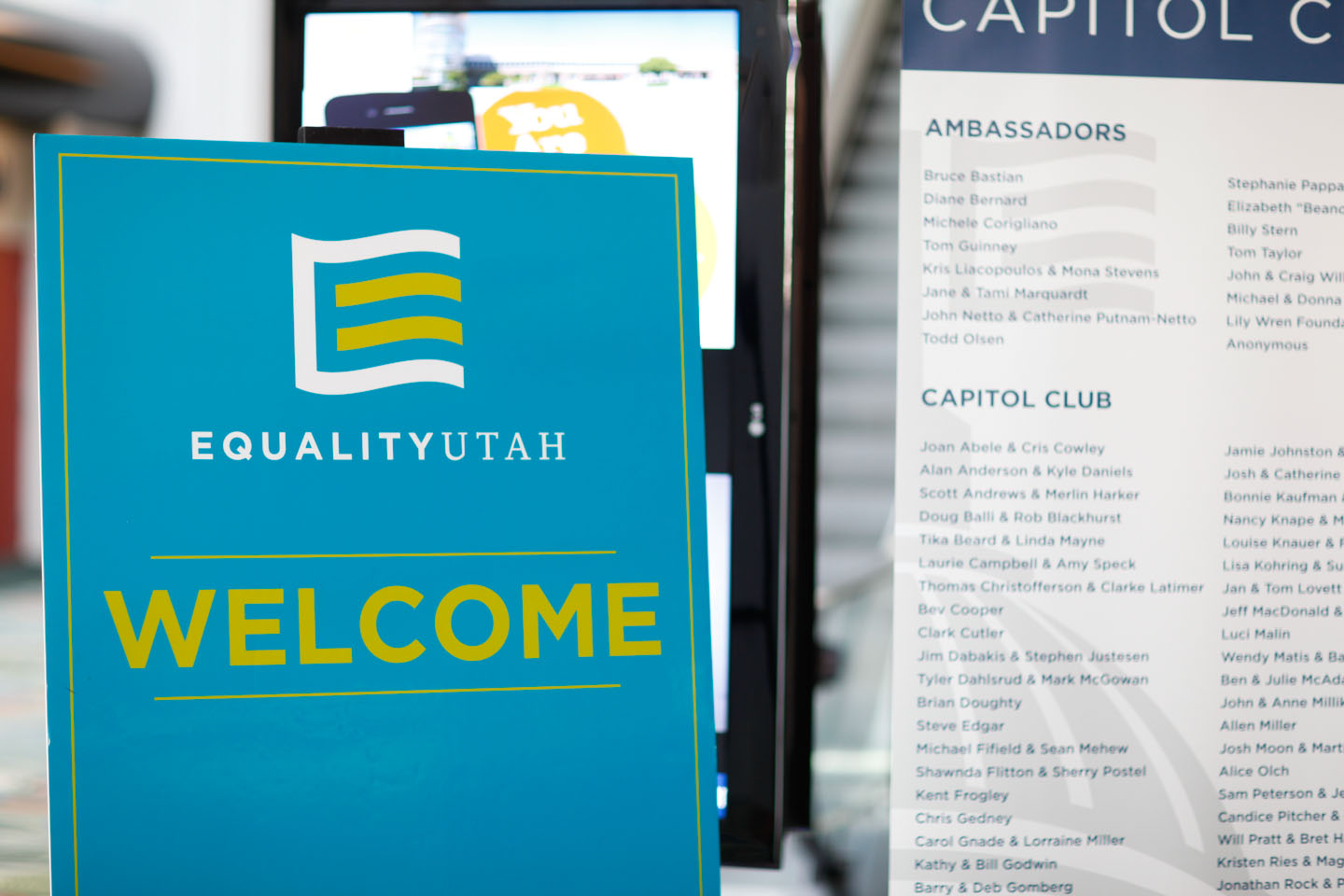 Equality Utah Welcomes Attendees