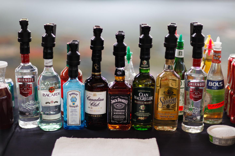 Mmmm, liquor