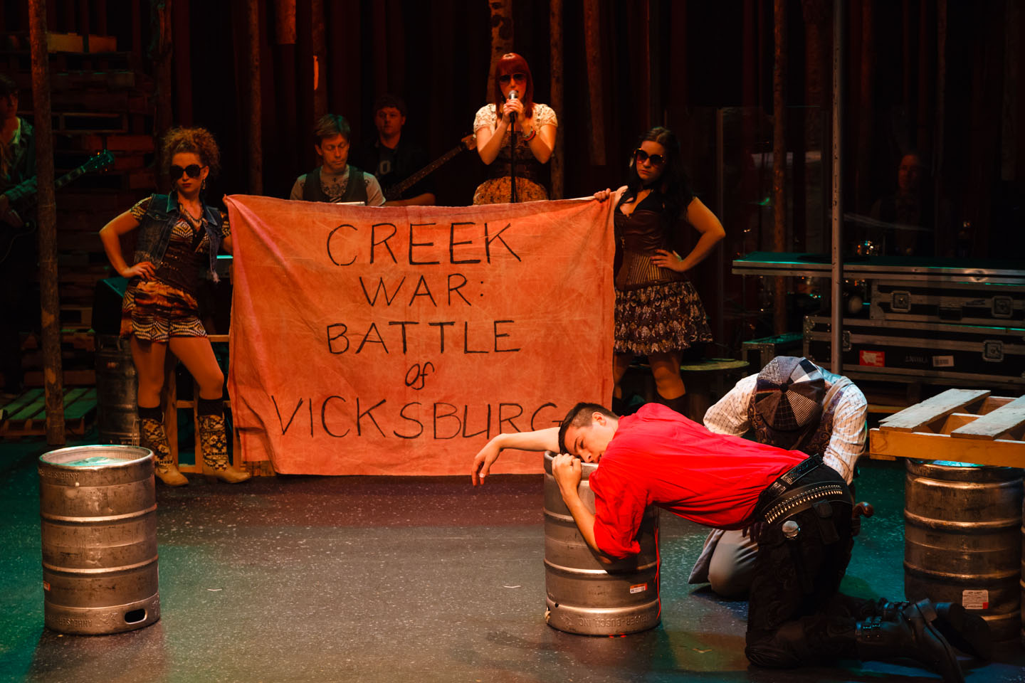 Bloody Bloody Andrew Jackson Performance