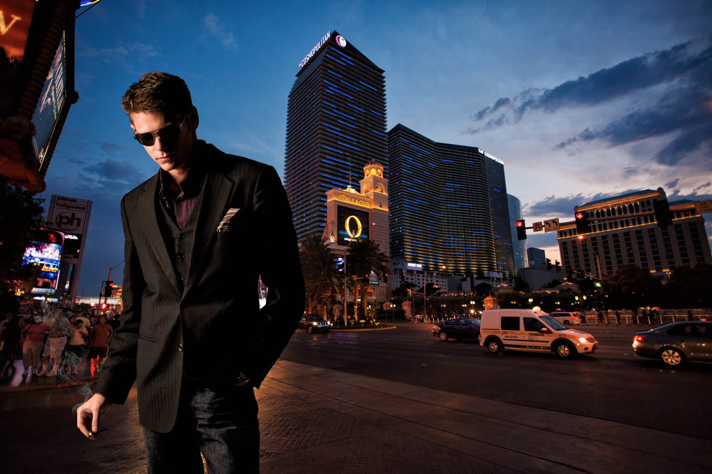 Men's Fashion in Vegas