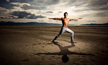 Yoga on the Great Salt Lake