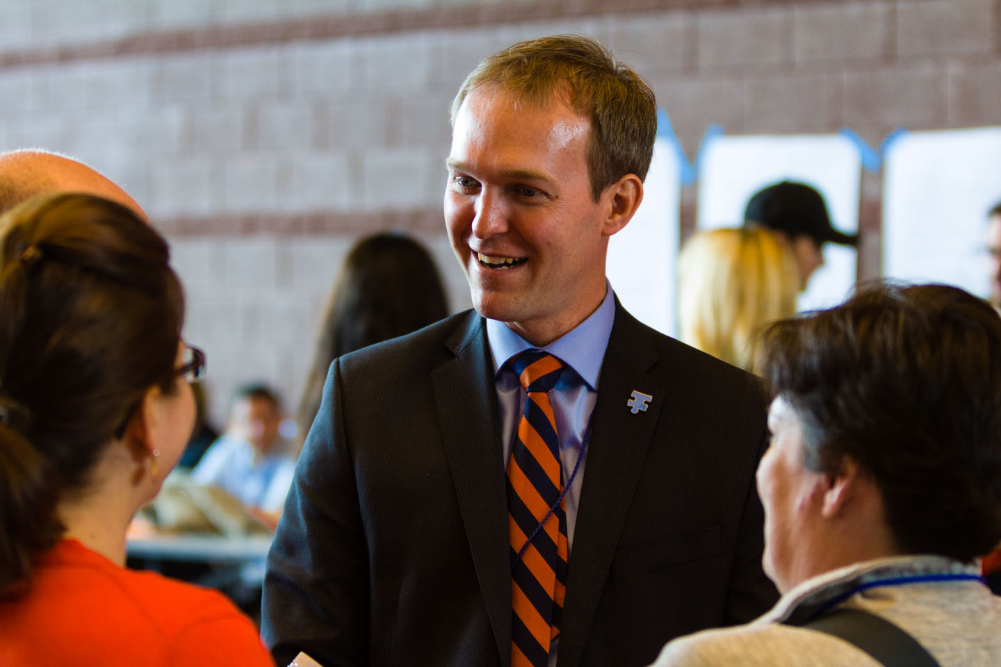 Ben McAdams later wins the convention vote to be the Democrat nominee