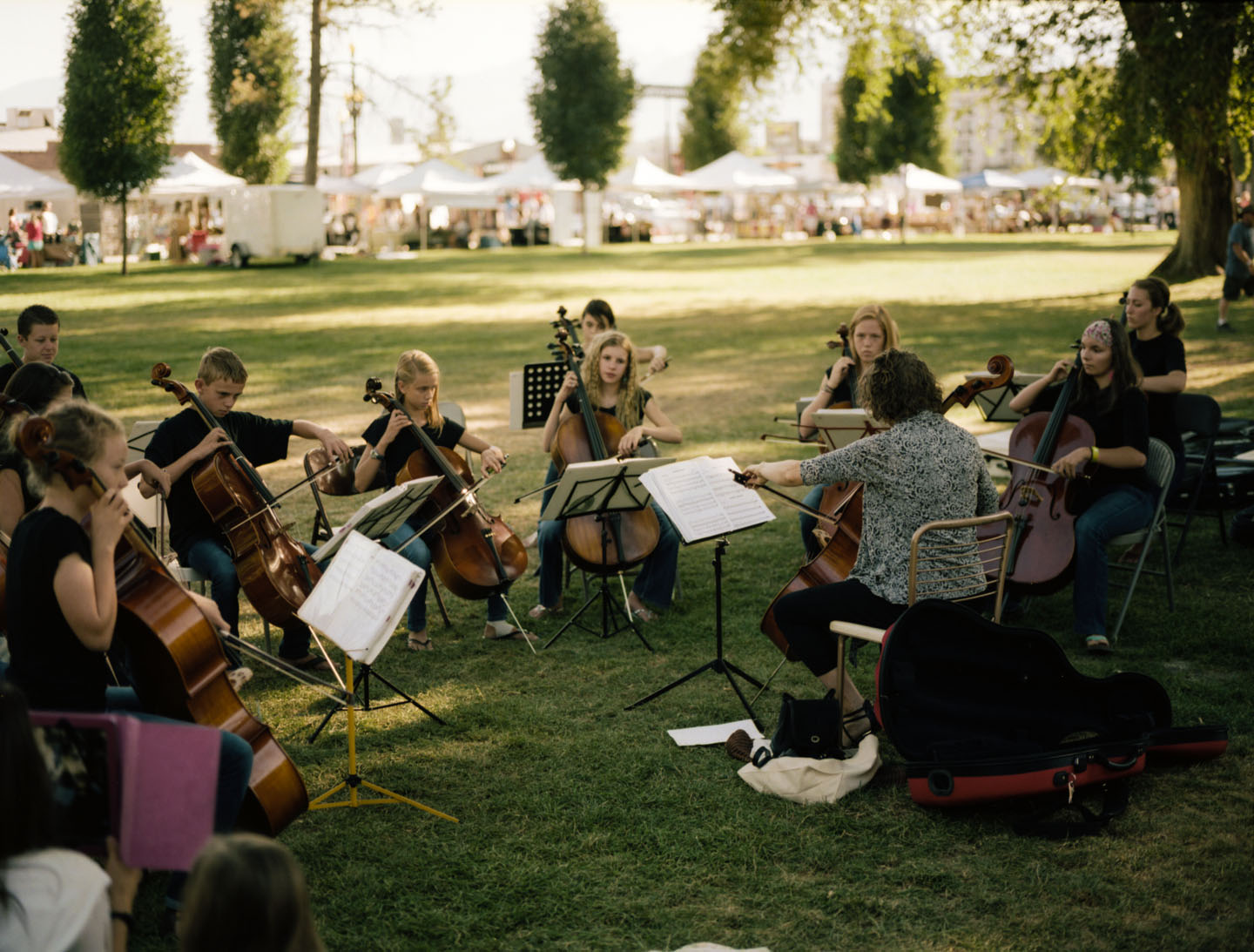 Orchestra at Salt Lake Farmers Market