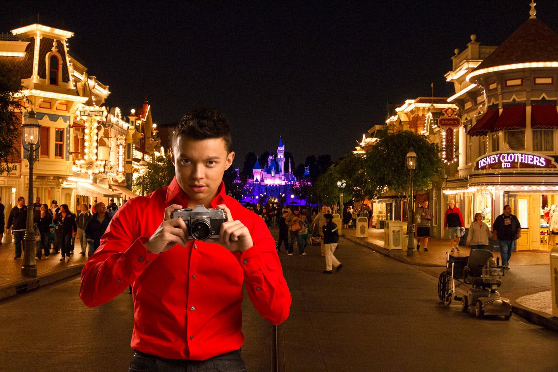 Julio was added to Disneyland's Main Street