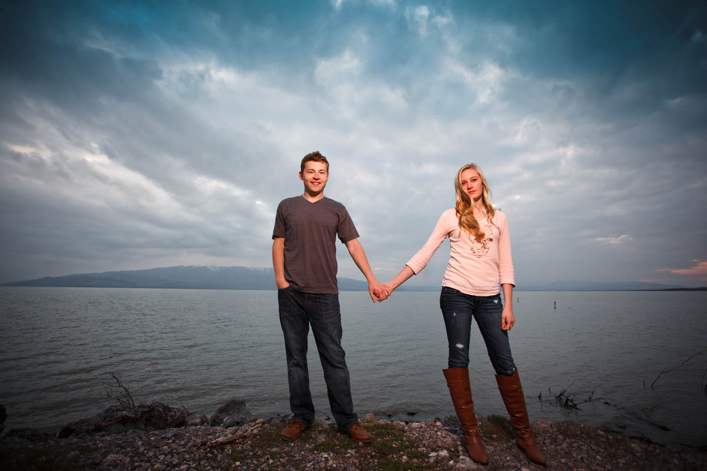 Overcast skies turn out great for portraits