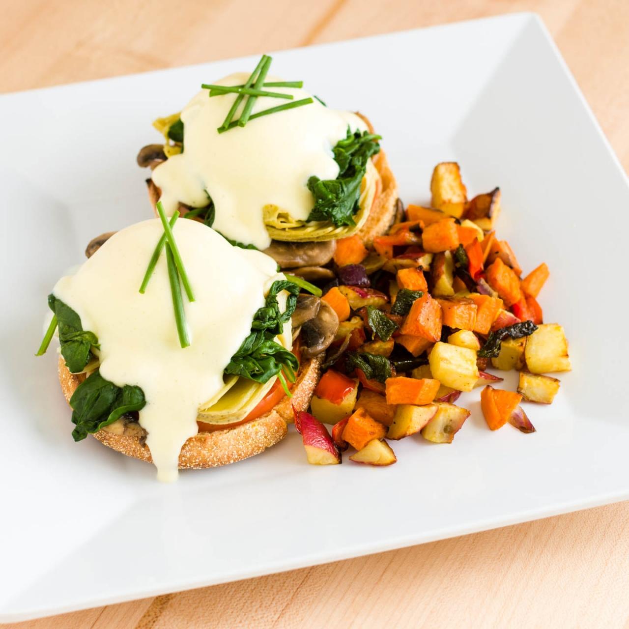 veggie-eggs-benedict