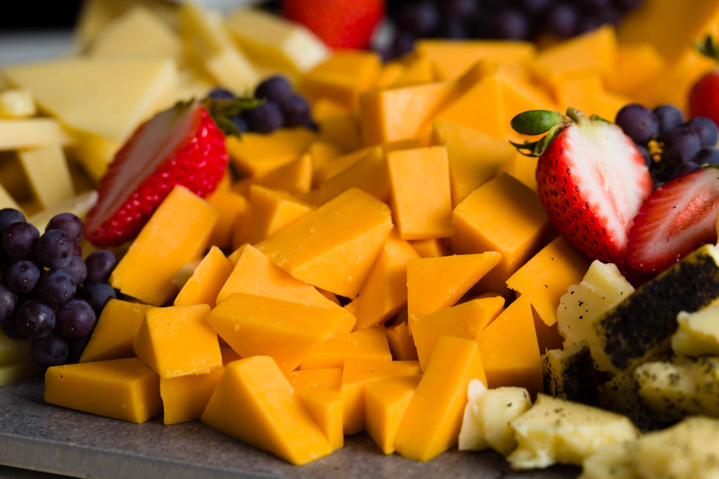 Cheese & Fruit plates