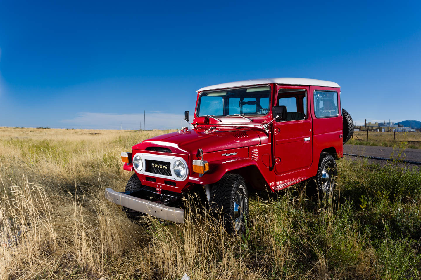 Classic Restored Toyota Land Cruiser From The 1970s Dav
