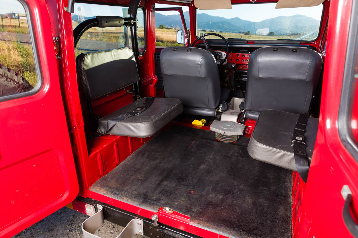 Inside The Toyota Land Cruiser