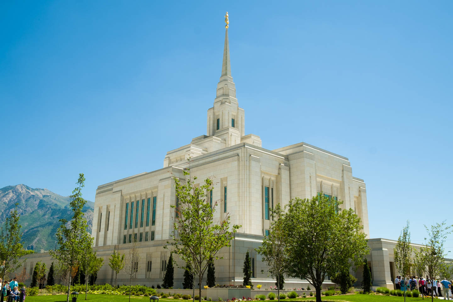 Back of the Ogden Temple