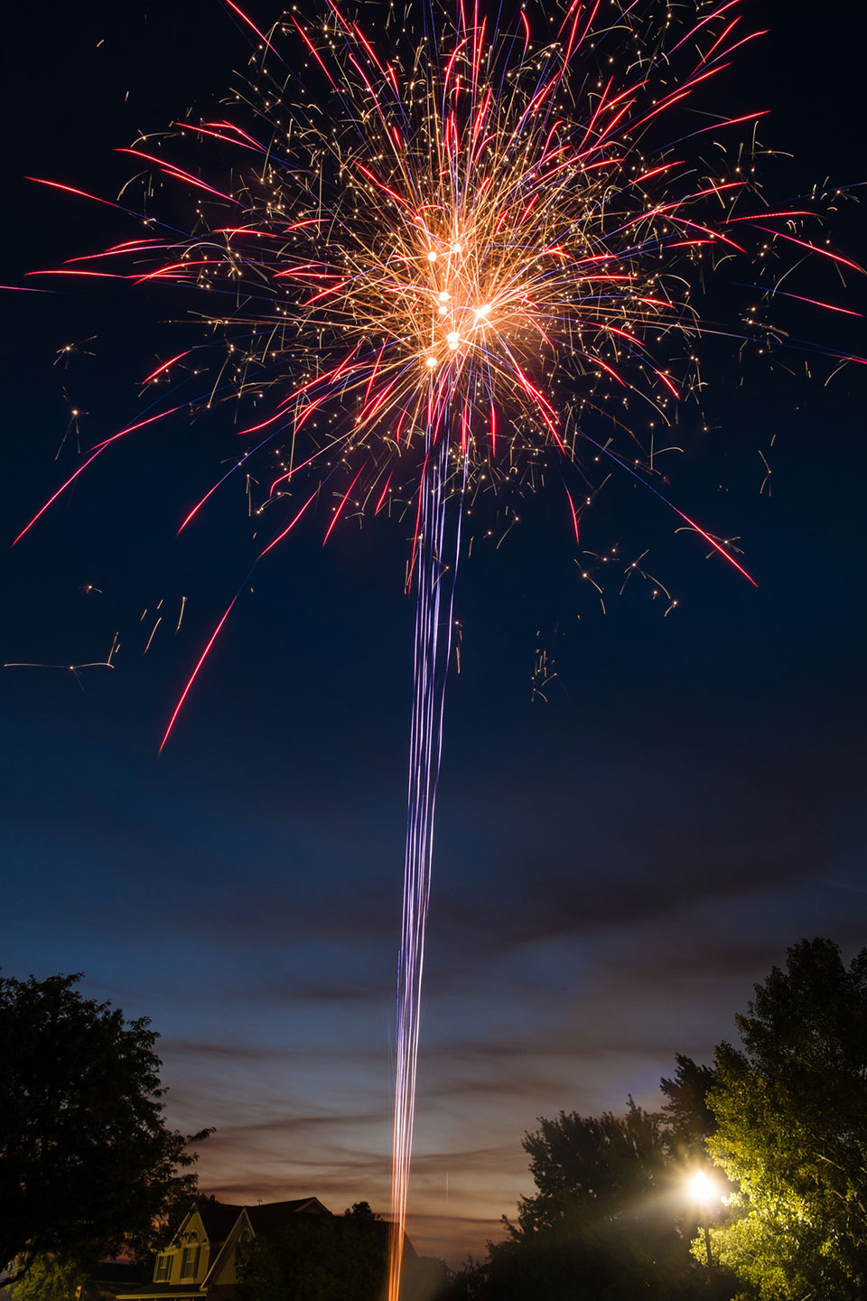 Fireworks for Pioneer Day