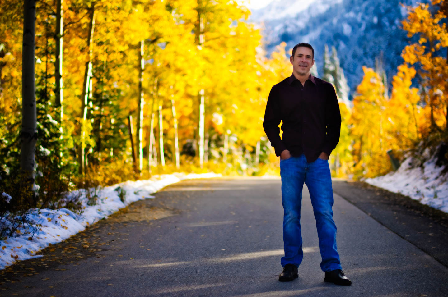 Jay's portraits in Big Cottonwood Canyon