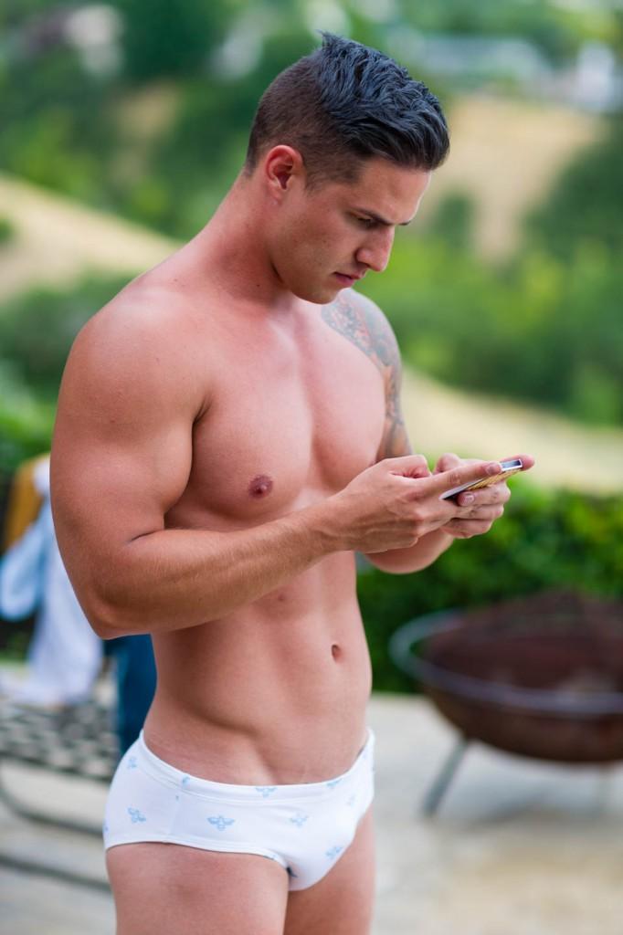 Teen male swimsuit models — 1