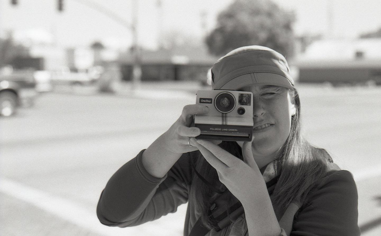 Nicolesy with 35mm black and white film