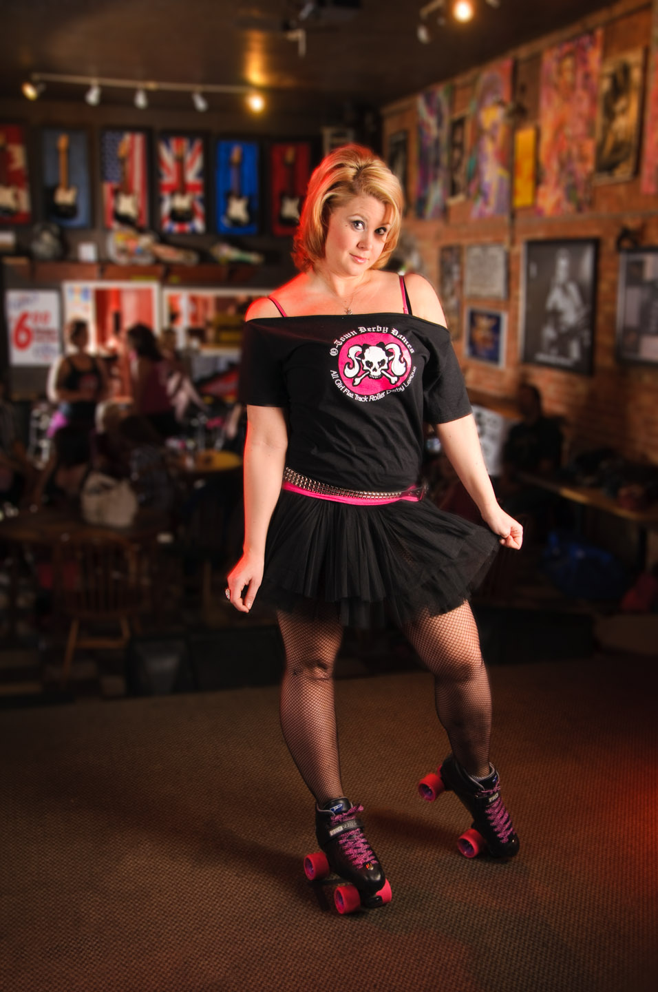 Individual roller derby photos