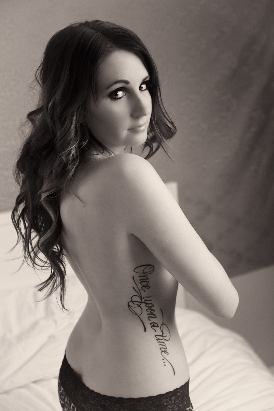 One of my two favorite photos from the boudoir shoot