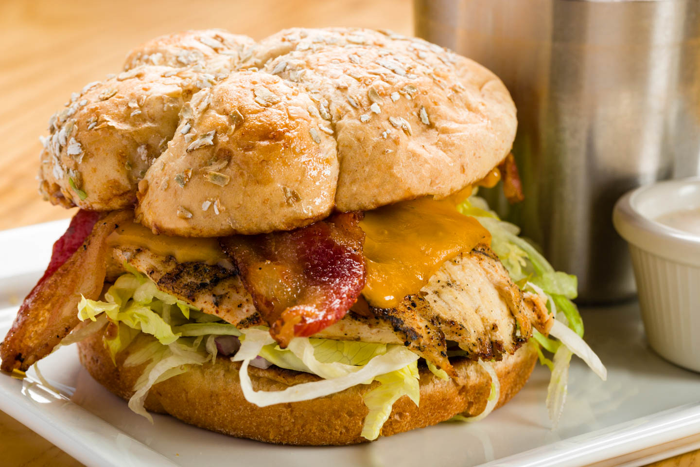 Santa Fe BBQ Chicken Sandwich