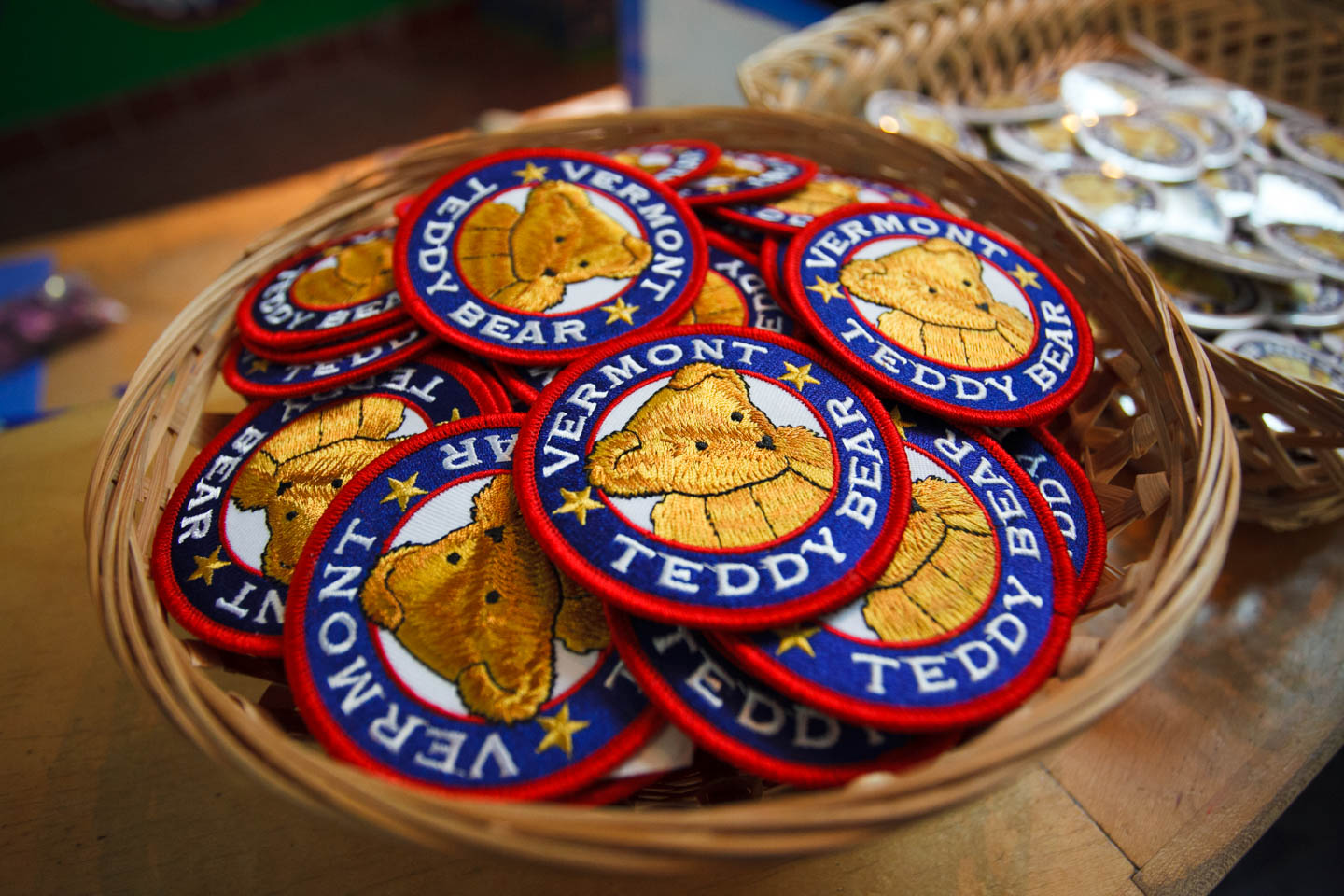 Vermont Tedy Bear patches