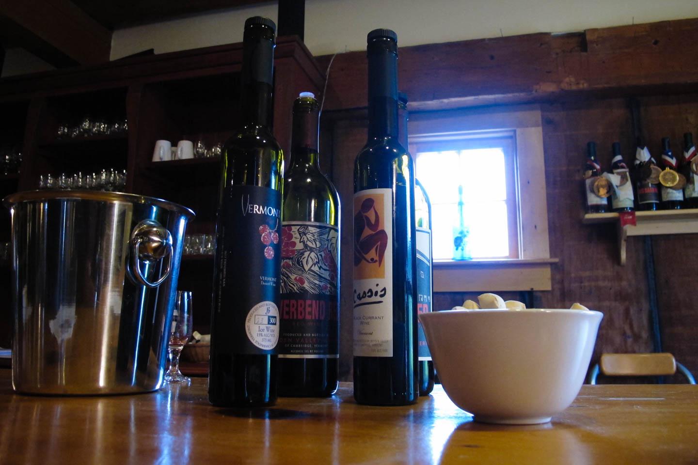 Wine Tasting in Vermont