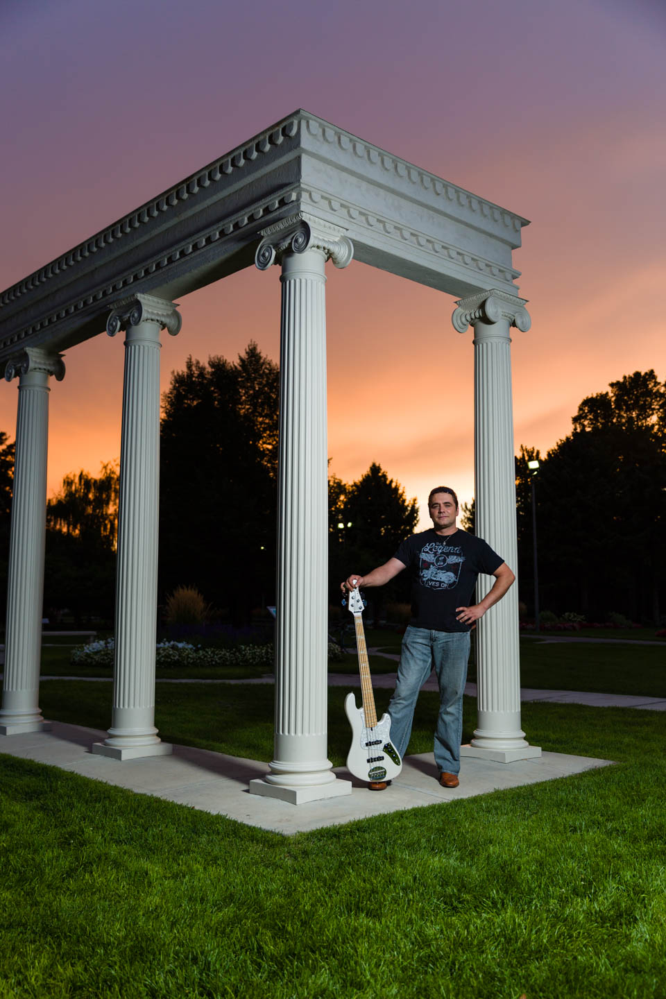 Rock and roll and the Greek Columns