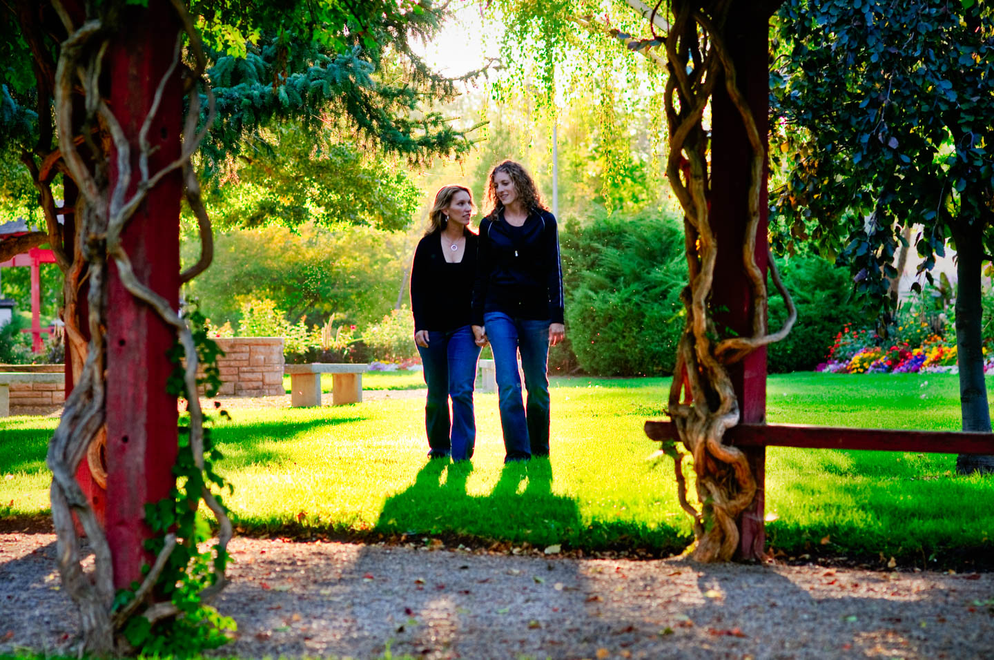 Amy and Julianne's engagement photos
