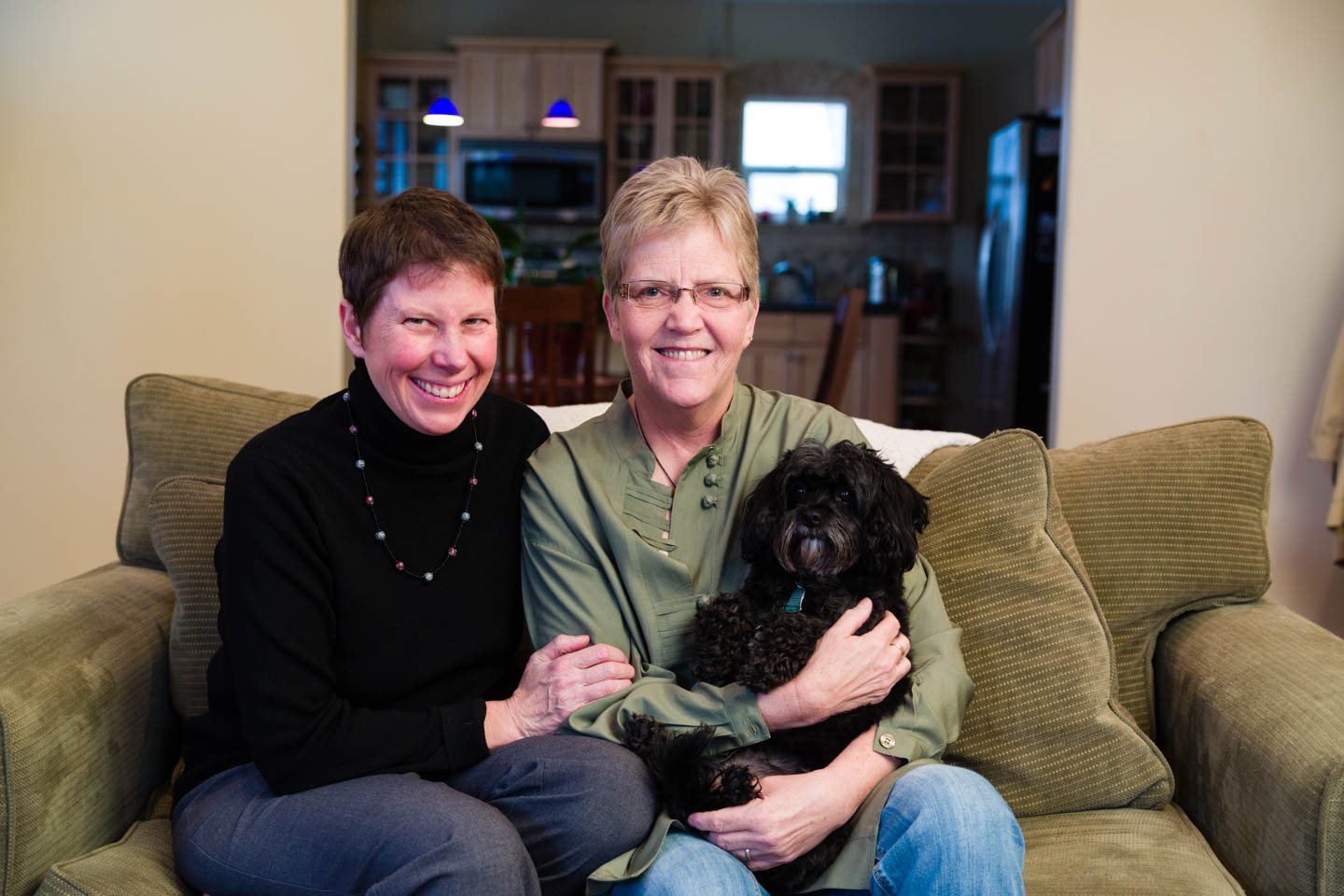 Family Portrait of Kody Partridge and Laurie Wood