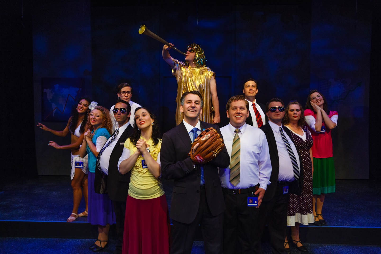 The cast of Saturdays' Voyeur 2012