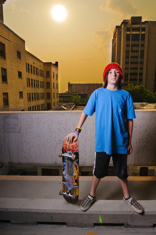 Skateboard of fury
