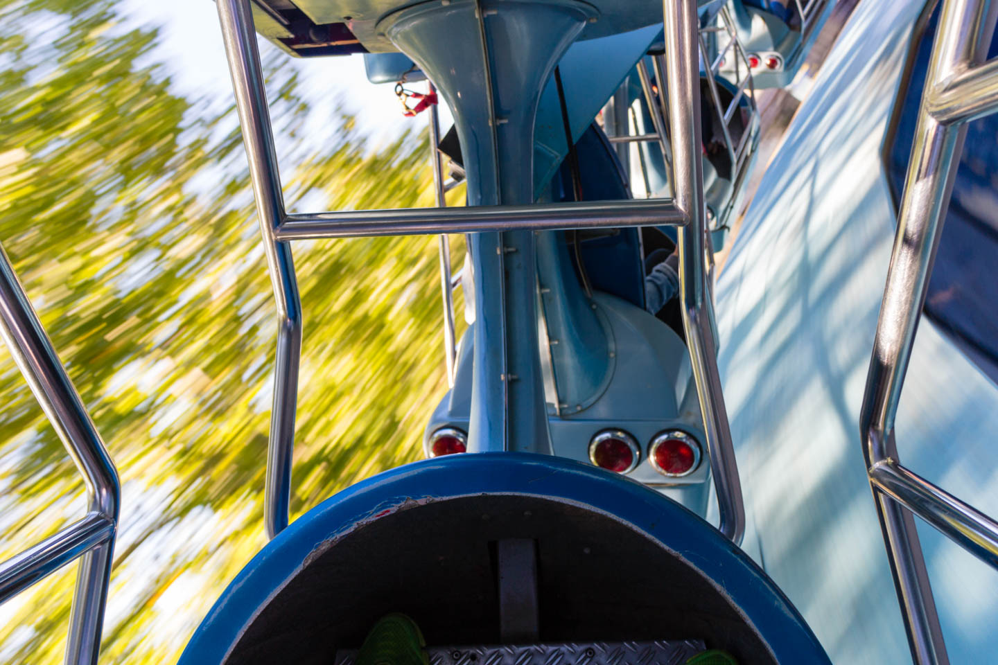 Spinning and motion sickness have you flipping on the Centennial Screamer
