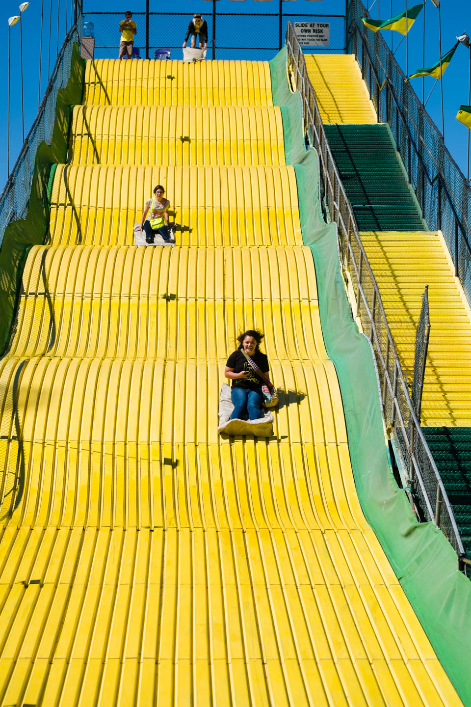 Super slide at the Utah State Fair