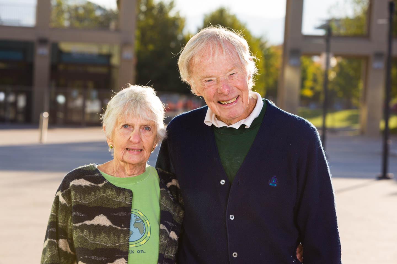 Great Grandma and Great Grandpa