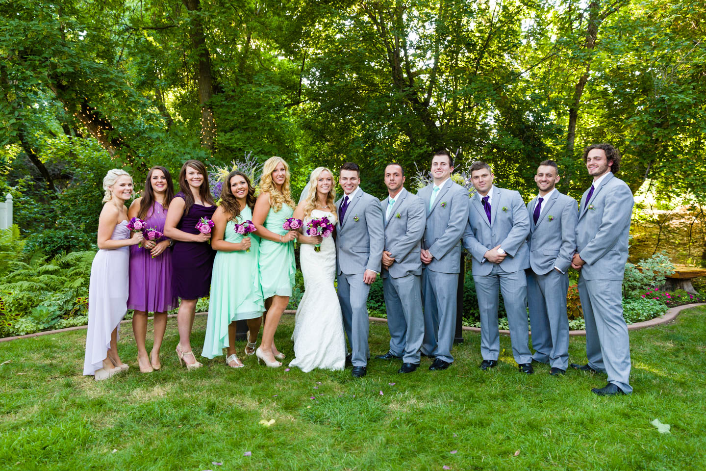 A Backyard Wedding in Kaysville for C.J. and Red | dav.d ...