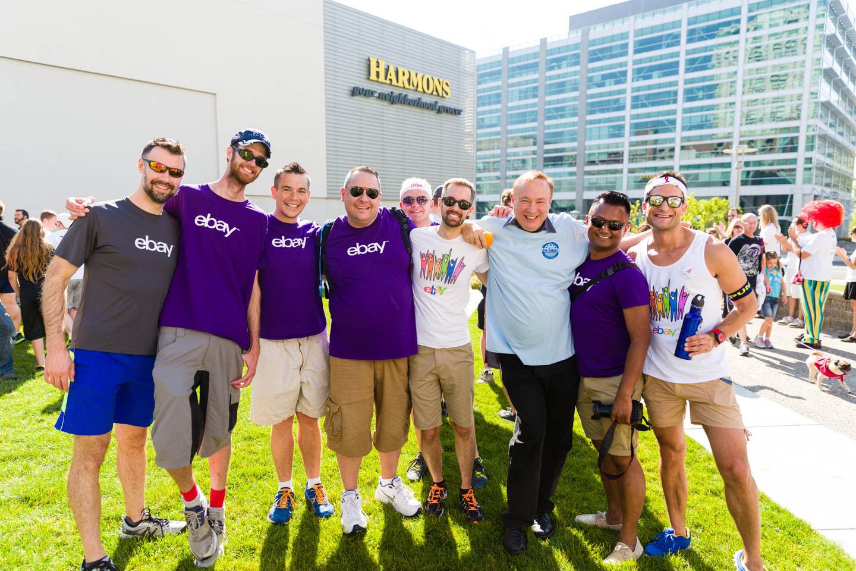 eBay and Jim Dabakis after the Salt Lake AIDS Walk