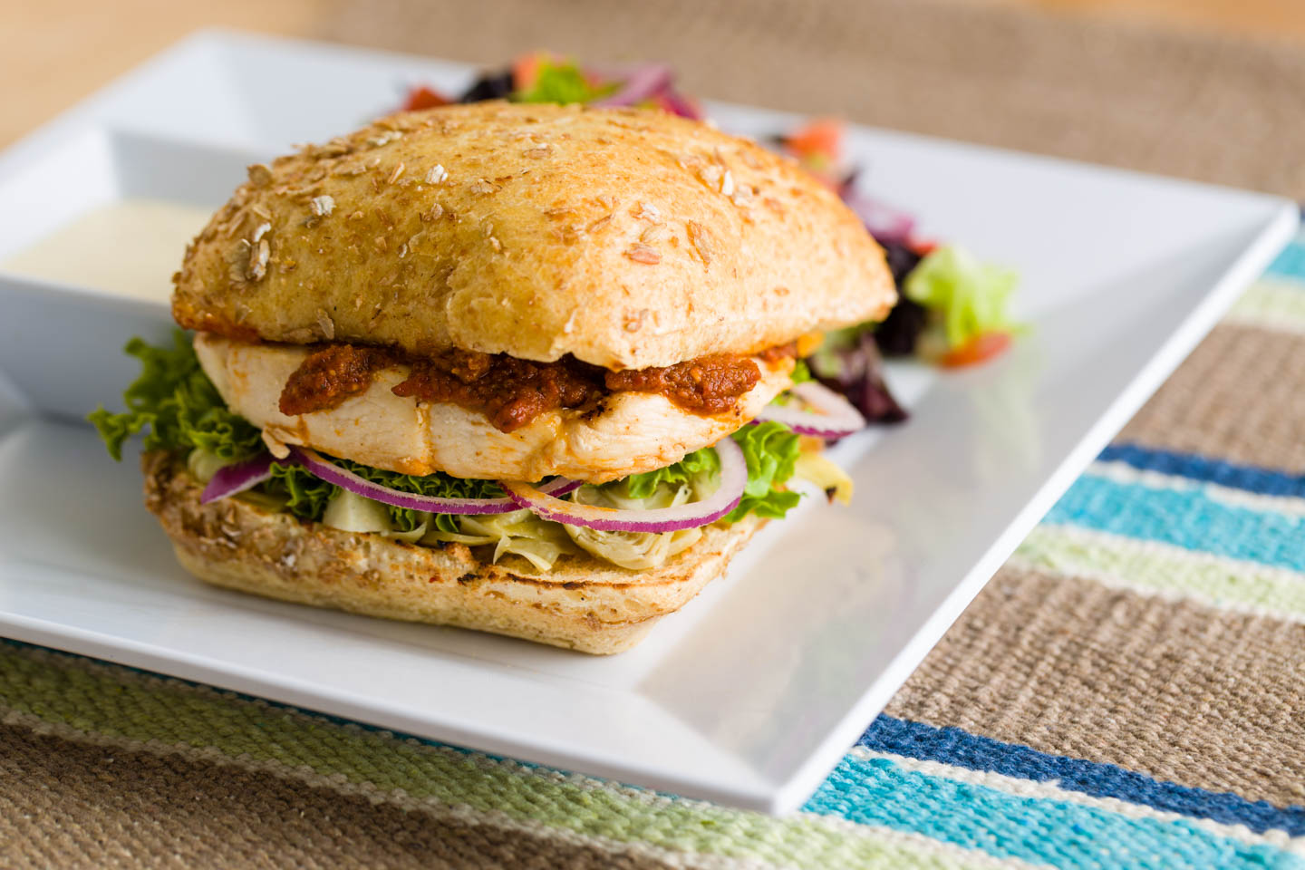 Sundried tomato Chicken Sandwich