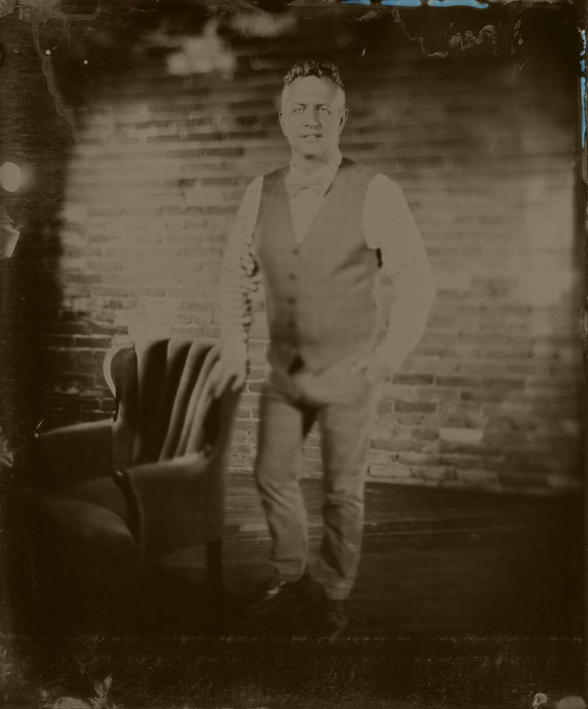 dav.d on 8x10 wet plate
