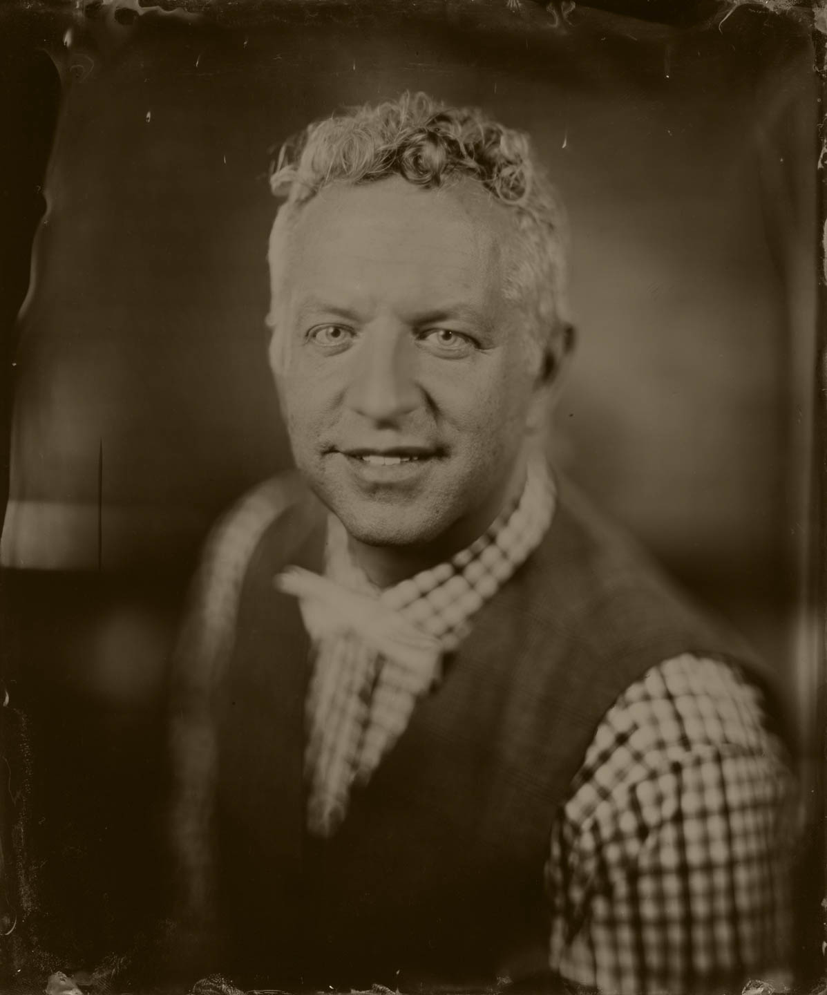 dav.d on 8x10 wet plate by Blackburn Studio