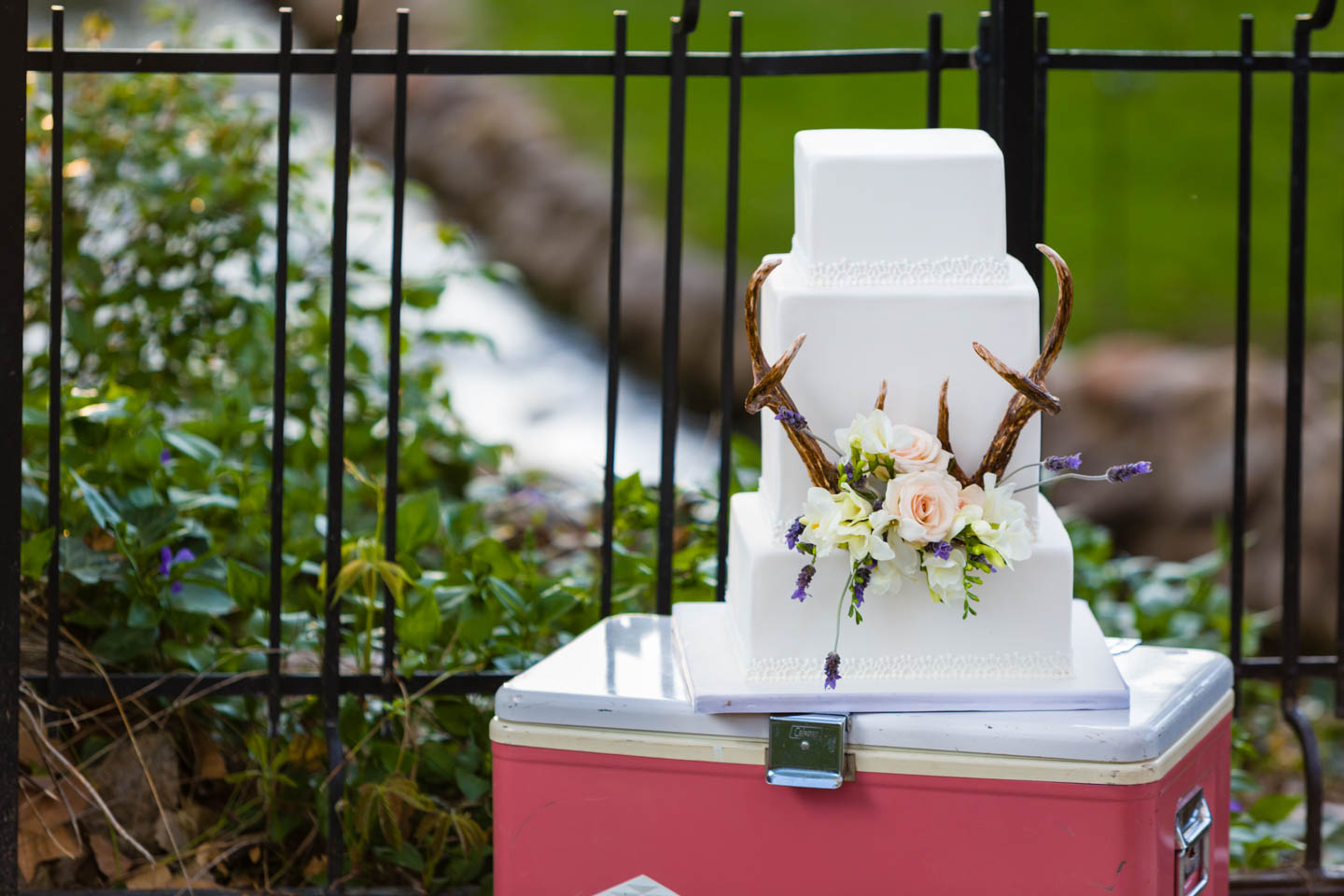Deer antlers and wedding cakes are all the rage