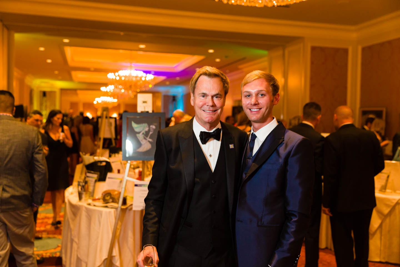 Bruce Bastian and partner