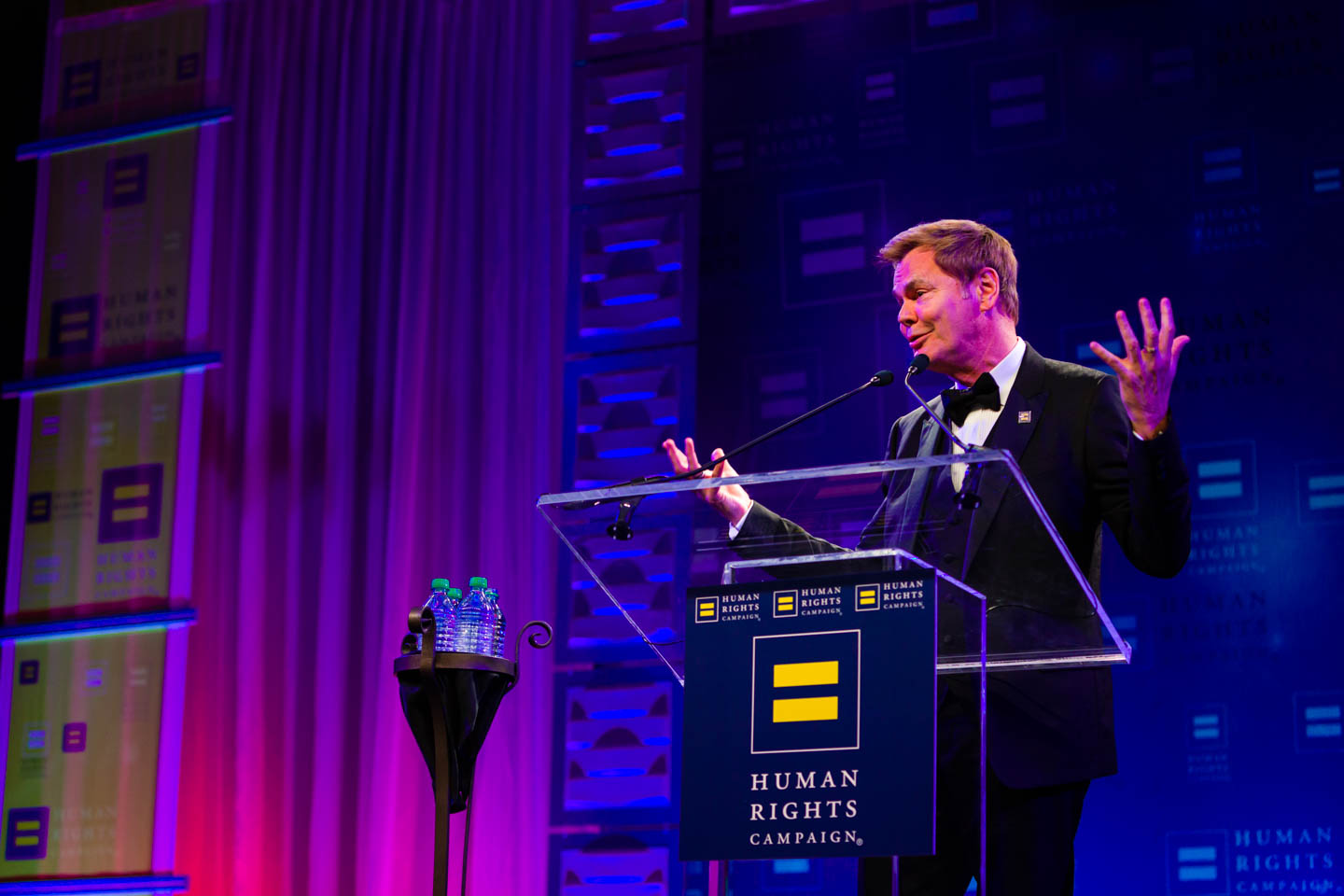 Bruce Bastian adresses the HRC Gala