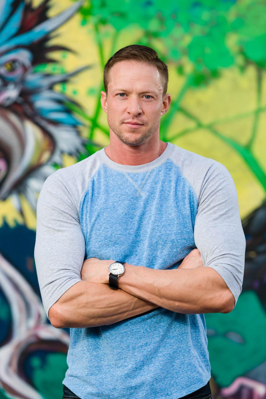 Graffiti makes color portraits even better and colorful