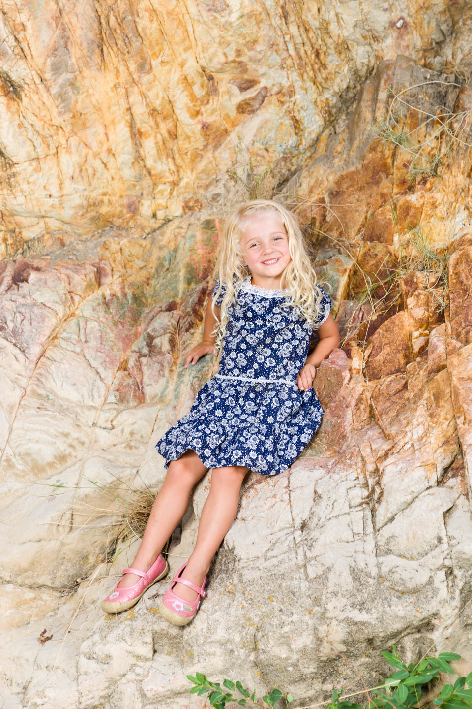 Eve's portrait in Rock Canyon