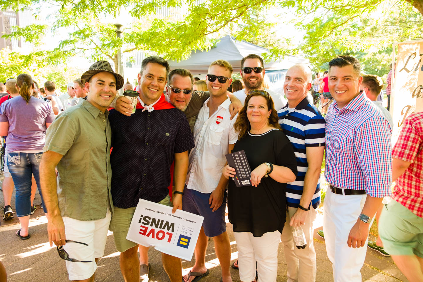 Friends show support for gay marriage nationwide and in Utah