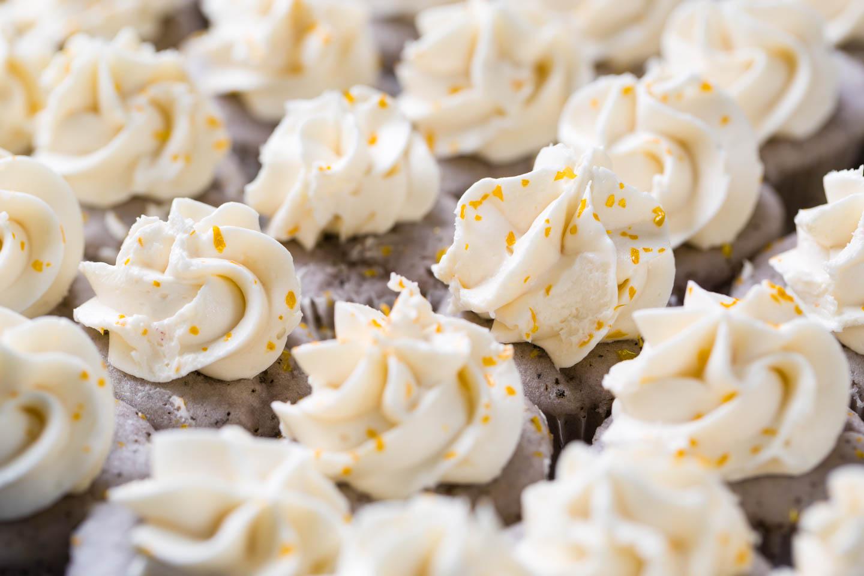 Lavender citrus cupcakes