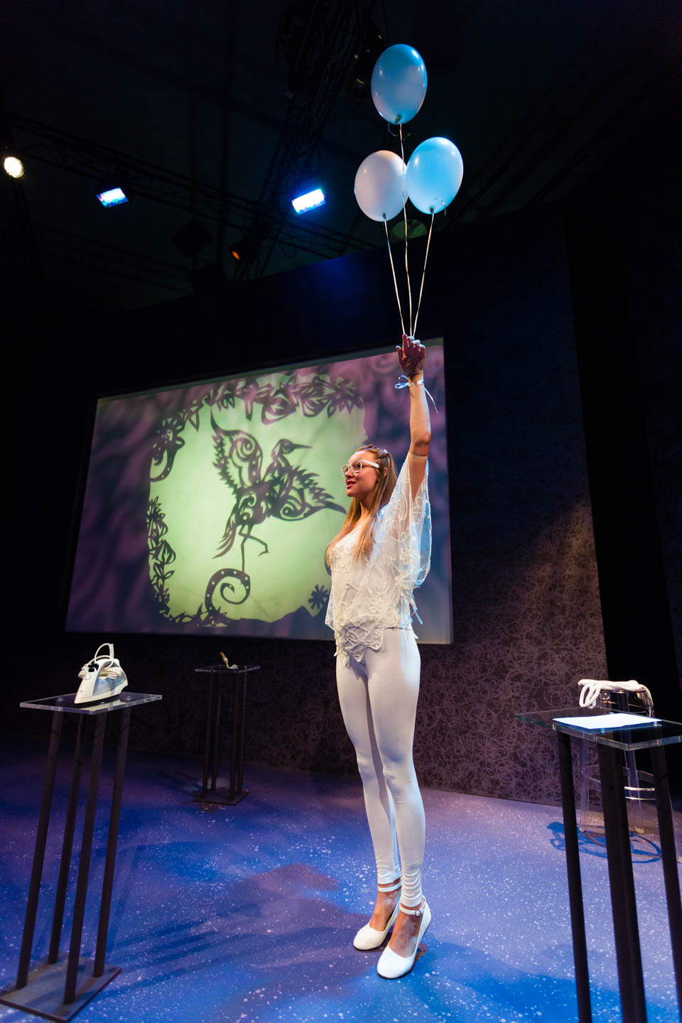 Blackberry Winter performed at the Salt Lake Acting Company