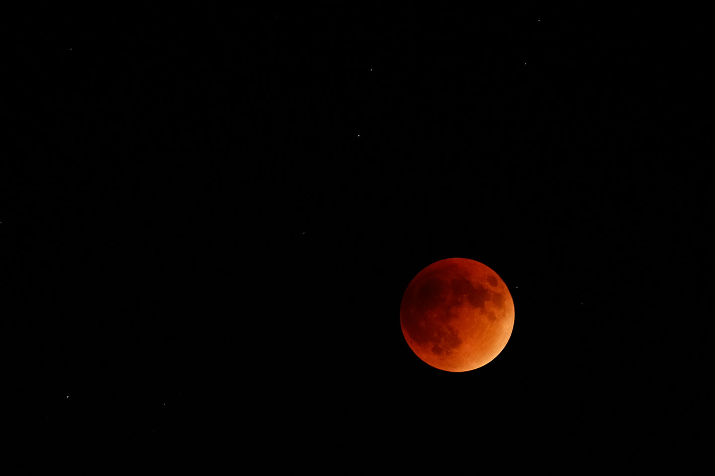 Supermoon's lunar eclipse aka the Blood Moon